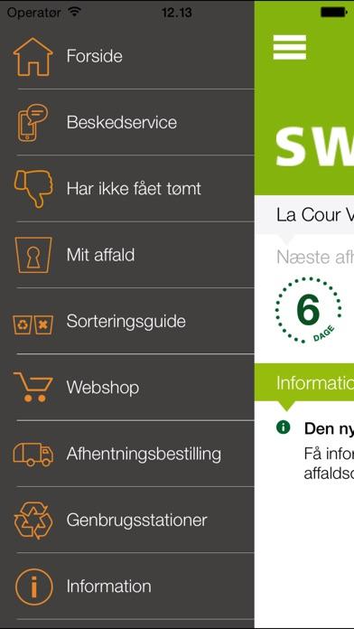 Screenshot for Affaldsportal in Denmark App Store
