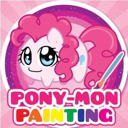 PONY MON Friendship Paniting Games for little Boys and Girls