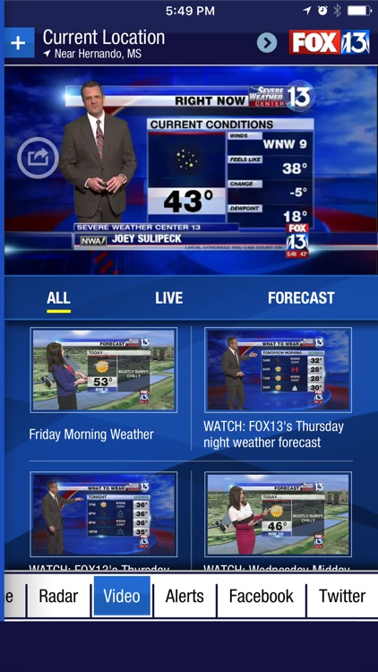 FOX13 Weather App screenshot-3