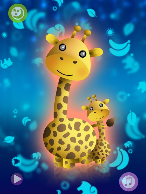 Baby night tales HD : stories and night lights for toddlers screenshot-0