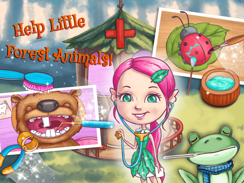 Fairy Sisters 2 - Magical Forest Adventures & Animal Care для iPad