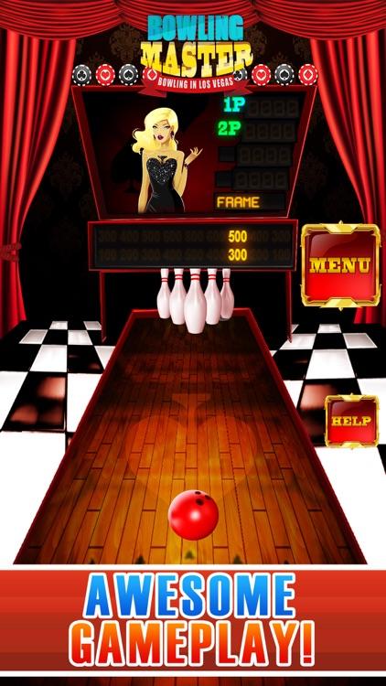 Bowling Master Pro - Bowling in Los Vegas screenshot-3