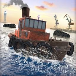 Mini Boat Driving Games for Free Water Racing 3D