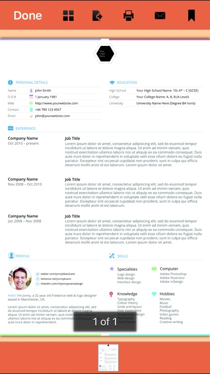 333 Resume Templates screenshot-1