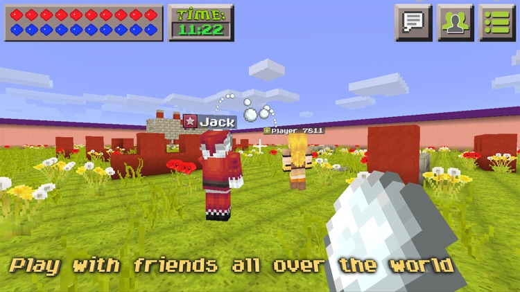 Snowball Fight : Mini Game With Worldwide Multiplayer screenshot-3