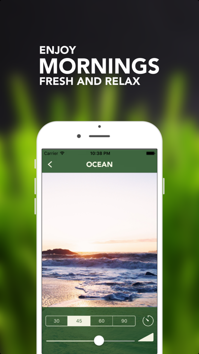 Sleep Maker - White Noise, Natural relaxing ambient sounds for meditation & yoga, help fall asleep screenshot two