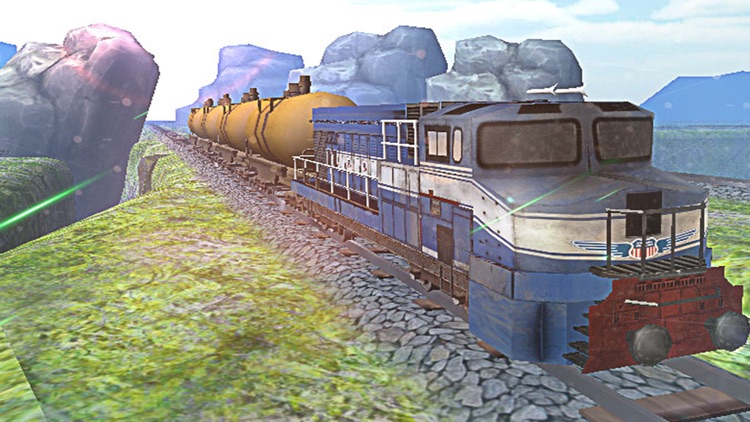 Train Driving 3D. The Locomotive Driver Journey Simulator 2016