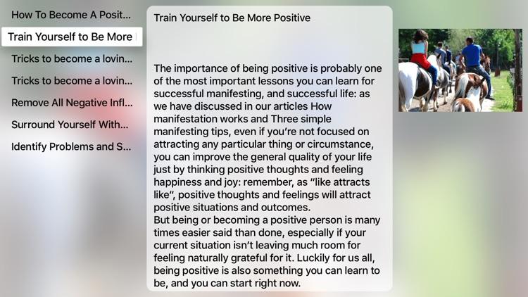Leave Negative Behind