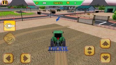 Combine Harvester Tractor Simulator screenshot two