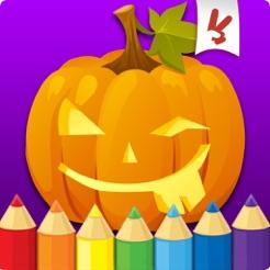 Halloween Livre De Coloriage Pour Les Petits Enfants Dessin