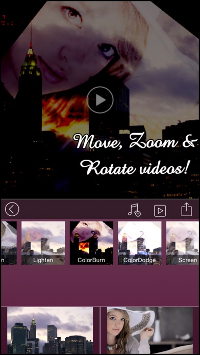 download VideoBlend Pro : Blend or overlay videos to make beautiful video effects apps 1