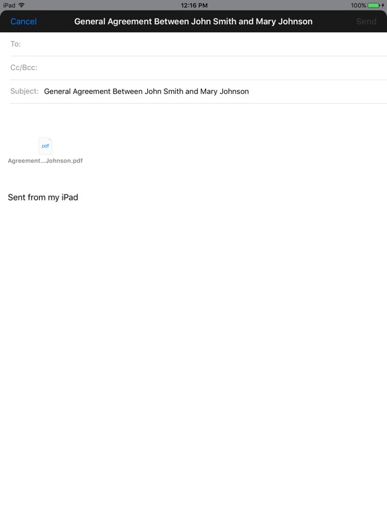 Simple General Agreement screenshot-2