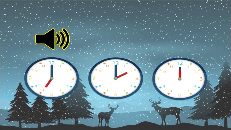 Learn to tell time with analog clock that suits for kids screenshot-4