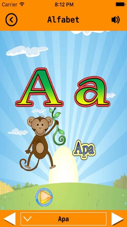 Svenska alfabet - ABC - Swedish Alphabet