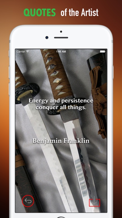 Sword Wallpapers HD: Quotes Backgrounds with Art Pictures screenshot-3