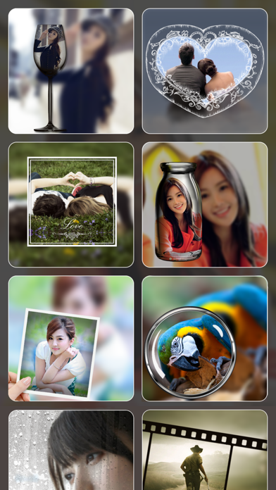 PIP Camera Photo Effect - Pic in Pic Image Editor with Fun