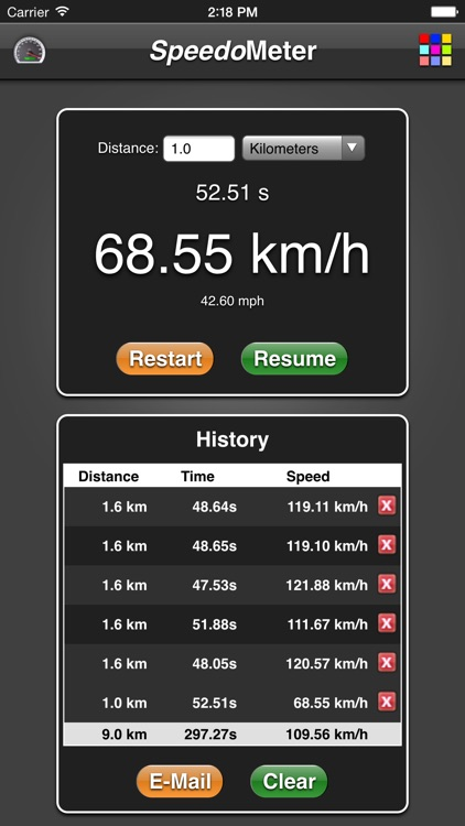 Speedometer App screenshot-3