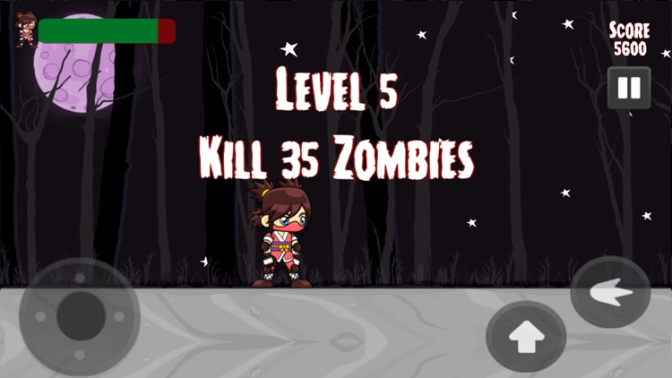 Zombies Vs Ninja Game screenshot-1