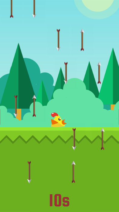 Ninja Chickens Spike Run - The 7 Second Impossible Challenge screenshot one