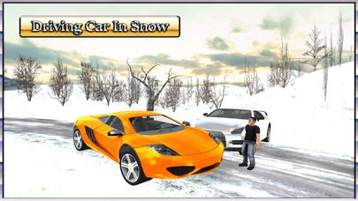 Car Driving 3D : Free Snow Hill Landscape Simulator 2016