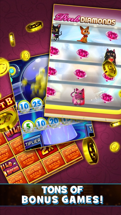 Vegas Party Slots – Free 3D Slots with Friends! screenshot-3