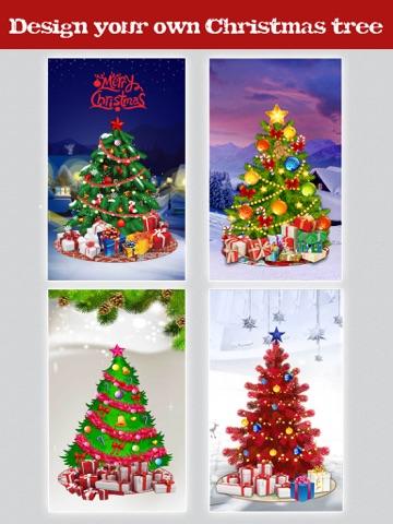 ... Screenshot #2 for Christmas Tree Designer - Sticker Photo Editor to make & decorate yr ...