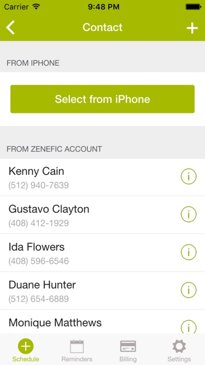 Zenefic - SMS & Voice Call Reminders and Appointment Scheduling App