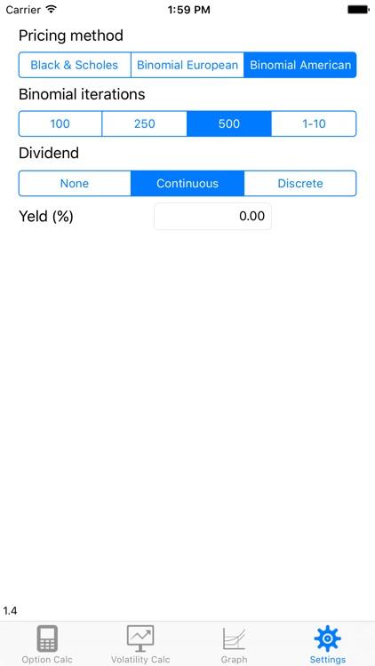 UoA Option Pricer screenshot-4
