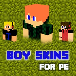 Animated 3D Boy Skins for Minecraft PE Lite