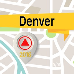 Denver Offline Map Navigator and Guide