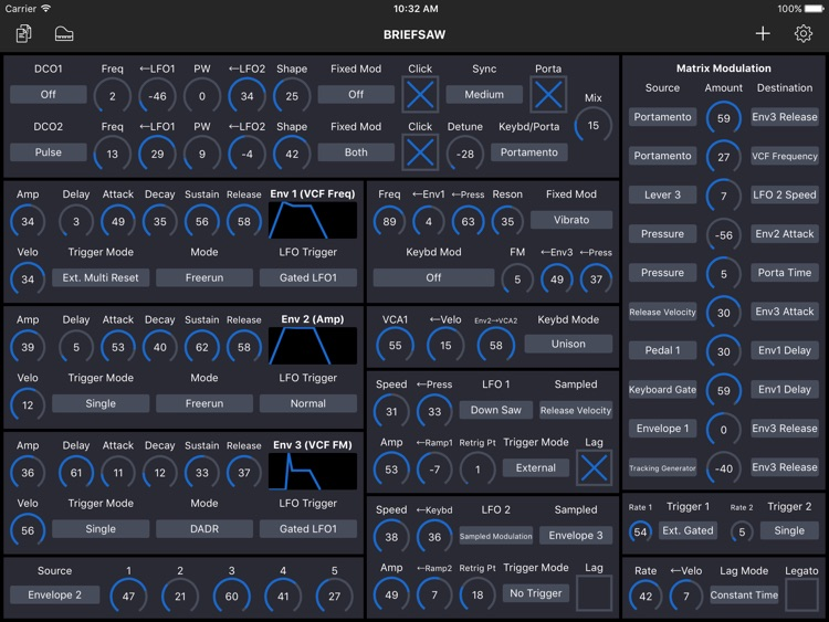 Patch Touch: for Oberheim Matrix