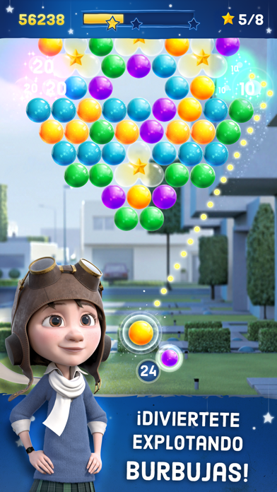 El Principito - Bubble Pop JourneyCaptura de pantalla de1