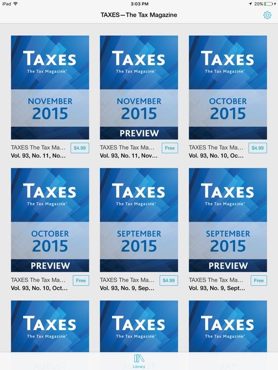 TAXES—The Tax Magazine screenshot-3