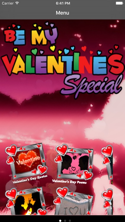 Be My Valentine Special