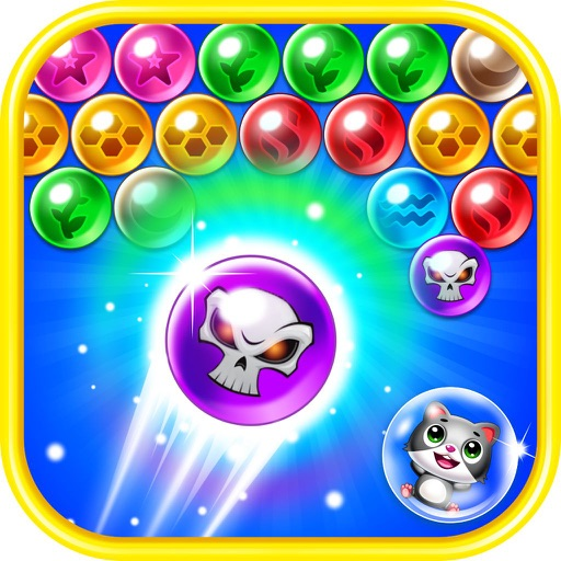 Шарики поп Головоломка - Witch Cat Pop 2: Bubble Shooter