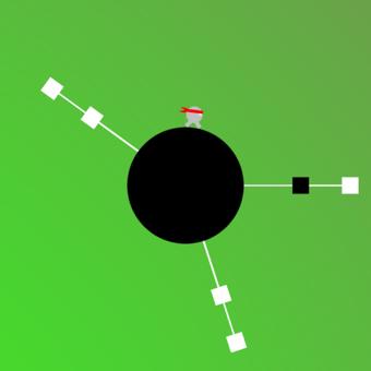 Twisty Circle Ninja Hopper by top free apps ltd