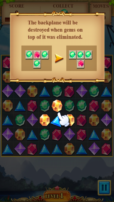 Jewel Match Blitz - Jewel Quest Saga screenshot two