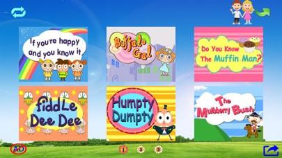 Screenshot of Animati per bambini canzoni in inglese HD2