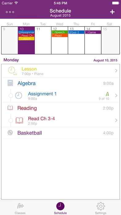 Screenshot #4 for Student Planner • Dog Ate It