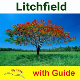 Litchfield National Park- GPS and outdoor map with guide