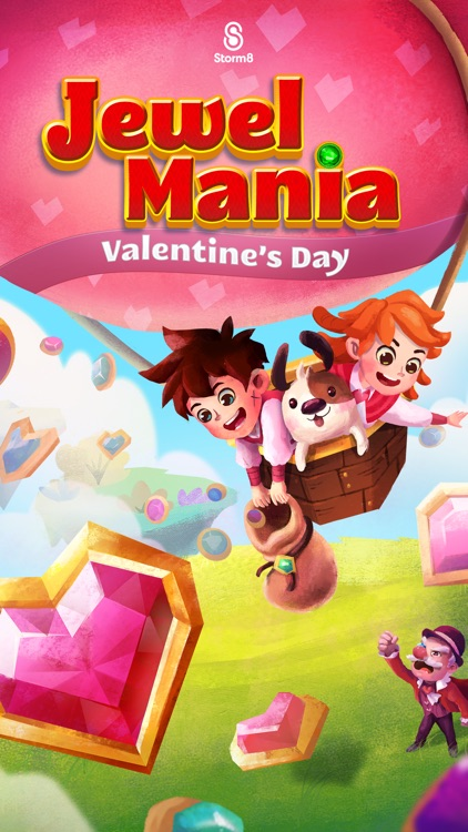 Jewel Mania: Valentine's screenshot-4