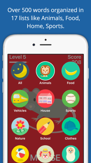‎PopSpell Lite English Words Screenshot