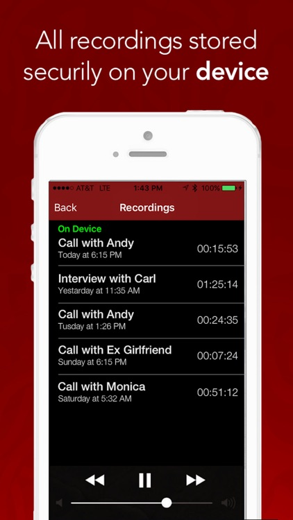 Call Recorder™ Pro - Record Phone Calls and Recording Tool for iPhone screenshot-3
