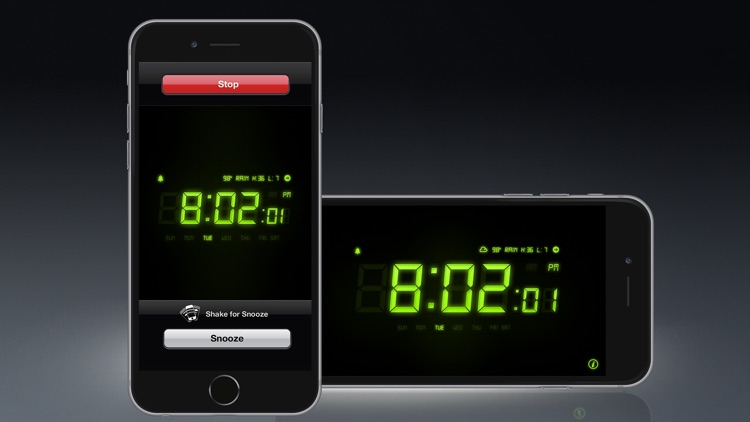 Alarm Clock - Alarm & Weather screenshot-3