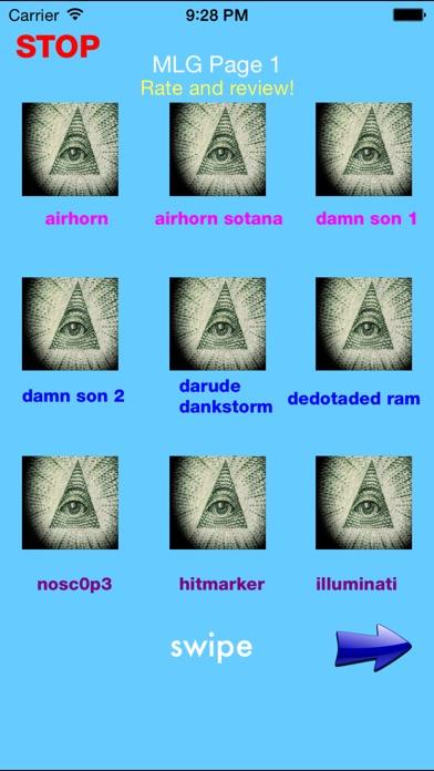Illuminati Soundboard Screenshot
