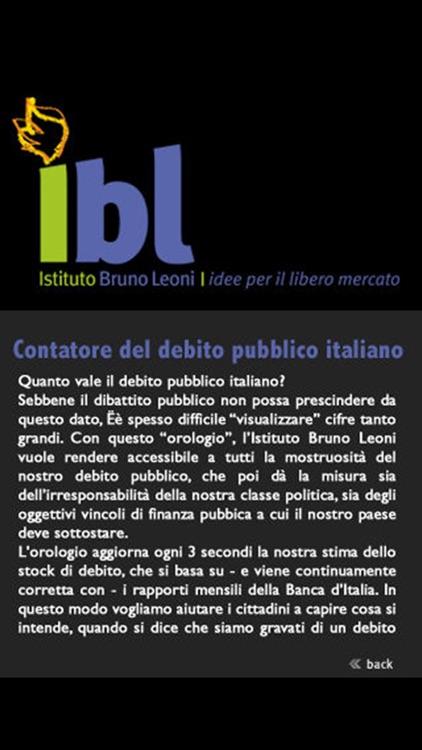 Italy's Debt Clock