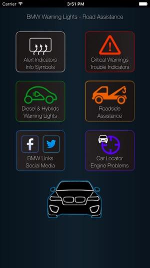 App For Bmw Warning Lights Car Problems Im App Store