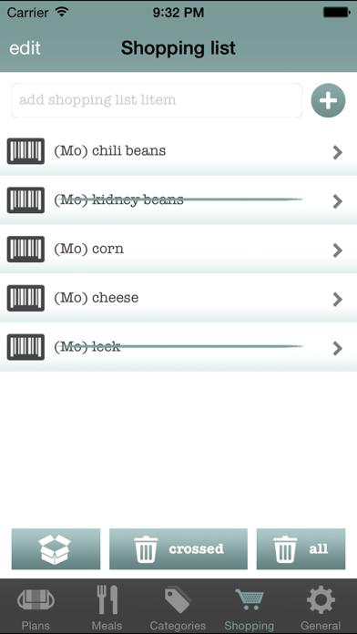 Dinner Planner review screenshots