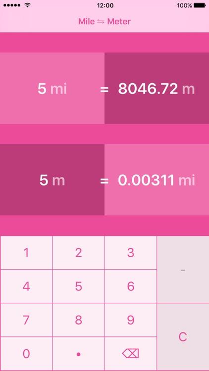 Miles to Meters | Mile to Meter | mi to m