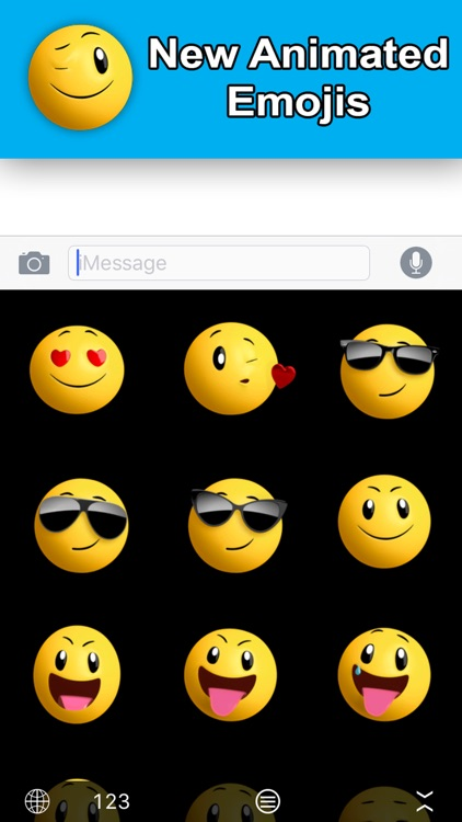 Animated Emoji Keyboard - GIFs